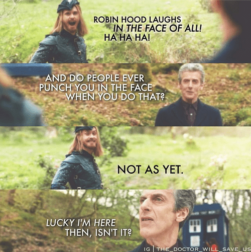 12th Doctor robin hood - 8369449216