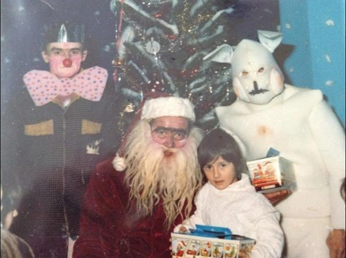 christmas creepy santa sketchy santas accidental creepy