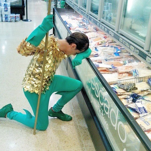 aquaman grocery store fish - 8369509376
