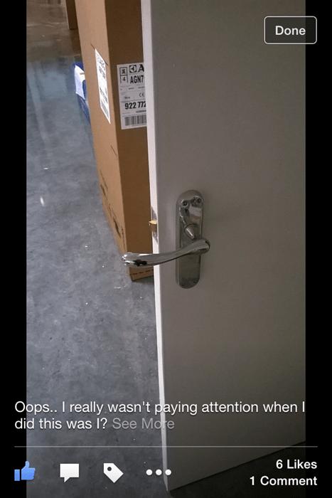 DIY door whoops - 8369515520