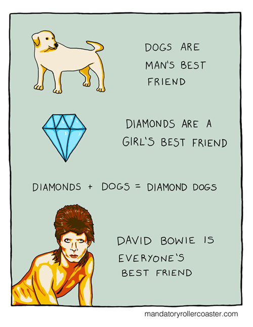 dogs,sick truth,david bowie,math,diamond,web comics