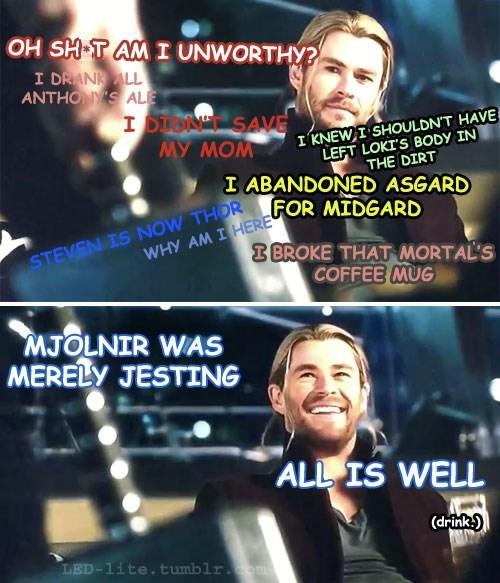Thor avengers 2 mjolnir - 8370200320