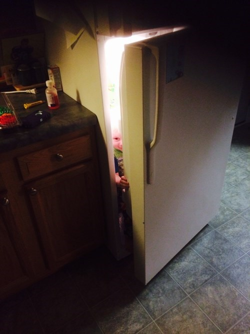 kids parenting refrigerator fridge