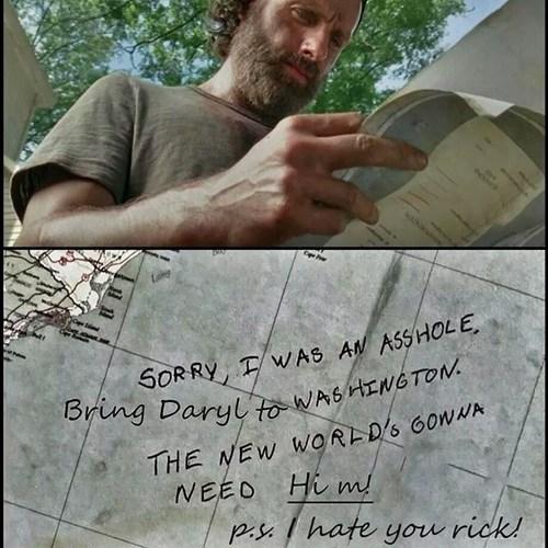 Rick Grimes daryl dixon - 8370532608