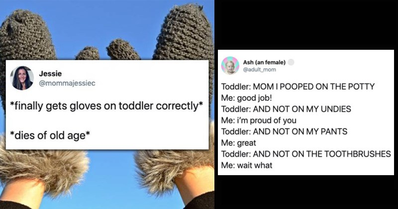 twitter parenting struggles toddler kids parenting terrible twos funny tweets parents - 8370693