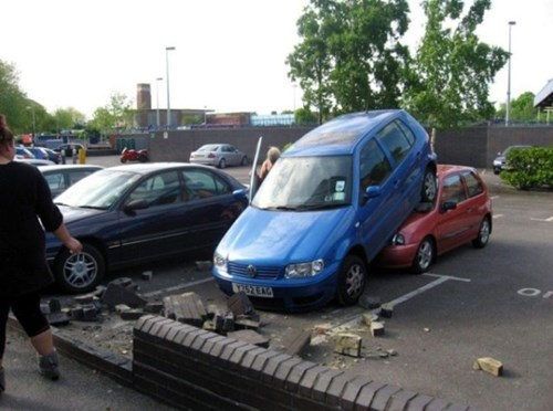 whoops cars parking fail nation - 8370703872