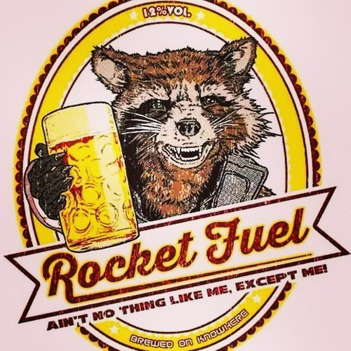 guardians of the galaxy awesome rocket racoon - 8370756608