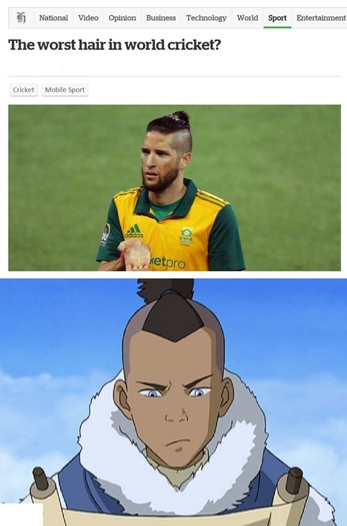 hair Avatar the Last Airbender sokka - 8370800384