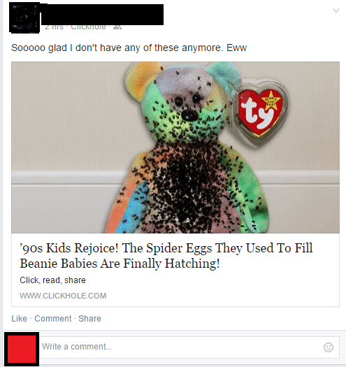 beanie babies,clickhole,the onion,satire,failbook,g rated