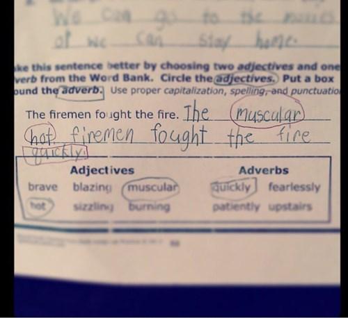 fireman school kids parenting adjectives - 8371123712