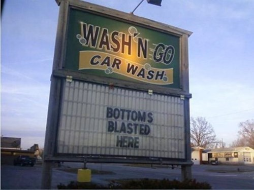 car wash,business signs