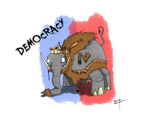 democrats Republicans democracy - 8371308544