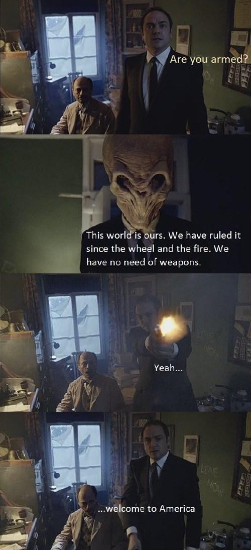guns america the silence - 8371317248