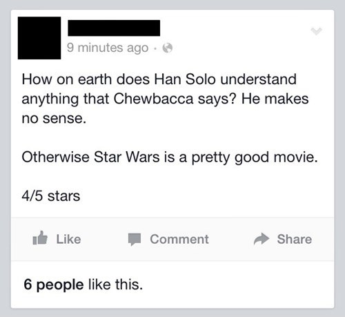 star wars chewbacca movies nerdgasm - 8371438848