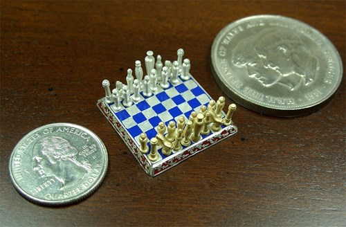 tiny design nerdgasm chess
