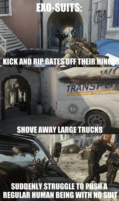 call of duty,call of duty advanced warfare,video game logic