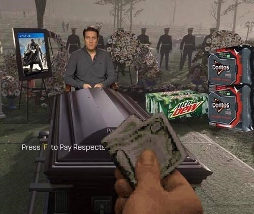 call of duty mountain dew dorito pope geoff keighley - 8371742976
