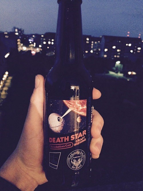 beer star wars awesome Death Star