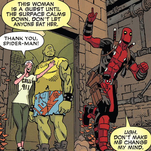 deadpool Straight off the Page - 8372095744