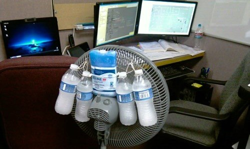 monday thru friday,fan,air conditioning,there I fixed it