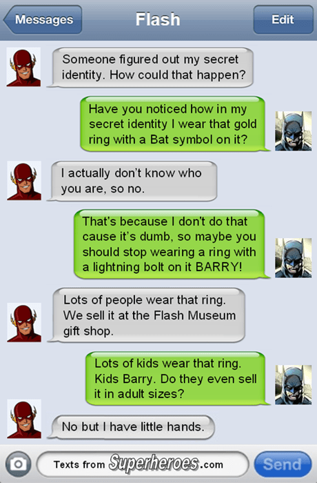 secret identity batman the flash - 8372142592