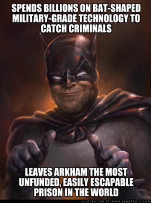 scumbag,Arkham Asylum,batman