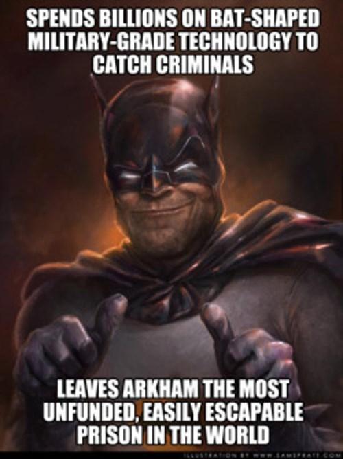scumbag Arkham Asylum batman - 8372146688