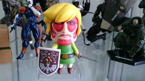crossover,link,the legend of zelda,attack on titan
