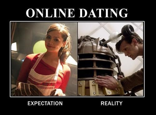wtf,daleks,doctor who,online dating,funny,g rated,dating