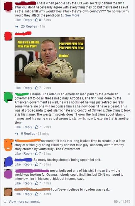 911 america conspiracy facepalm - 8372389632