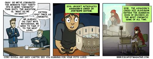 Ubisoft assassins creed web comics - 8372434944