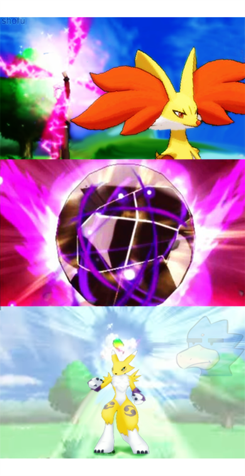 digimon delphox renamon - 8372436480