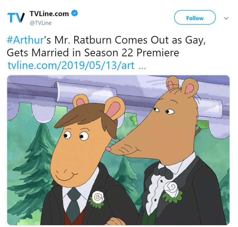 arthur gay marriage gay funny tweets - 8373253