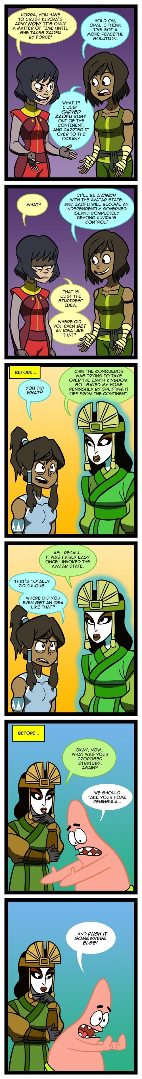 Fan Art Avatar web comics korra - 8373270784