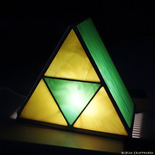 lamp legend of zelda for sale triforce - 8373272576