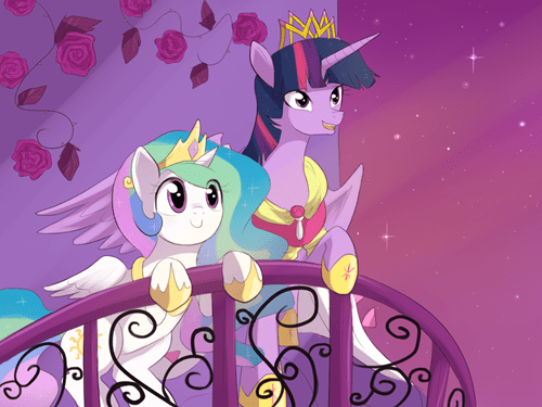 alicorn princess celestia princess twilight - 8373310464