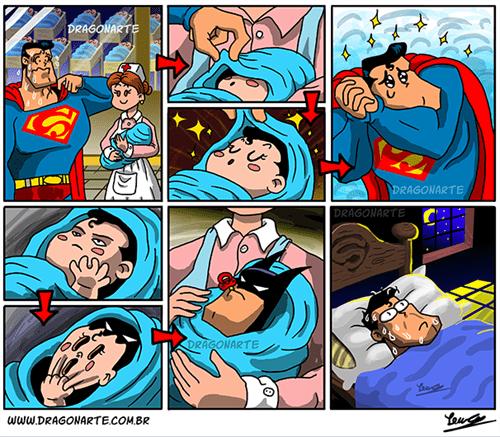 baby batman superman nightmares - 8373321472