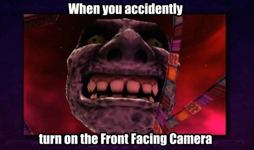camera majoras mask wii u gamepad - 8373787136