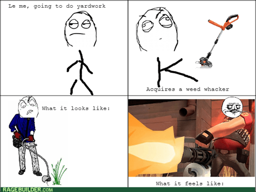 me gusta chores TF2 Team Fortress 2 yard work - 8373878272