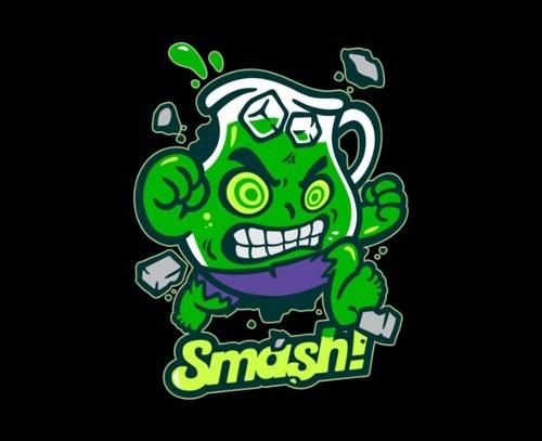 kool aid,tshirts,the incredible hulk