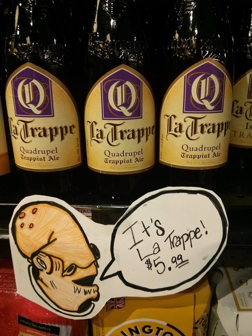 beer,admiral ackbar,funny,trappe