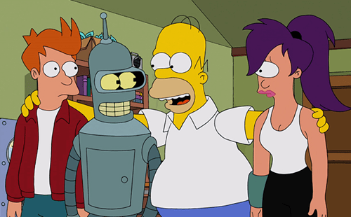 elections nate silver cartoons Subway weekend links futurama the simpsons Reddit television