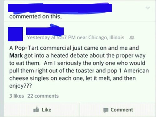 cheese gross what pop tart food failbook g rated - 8374447104