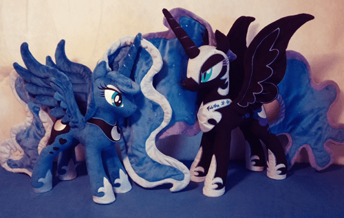 nightmare moon,Plushie,brony,princess luna,Hasbro