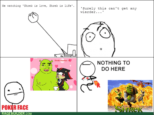 nothing to do here,shadow,shrek,fanfic