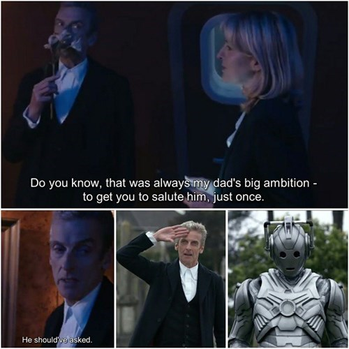 brigadier lethebridge-stewart 12th Doctor cyberman - 8374547712