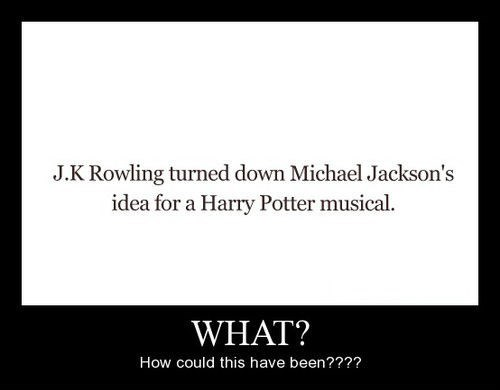 Harry Potter michael jackson funny - 8374553088