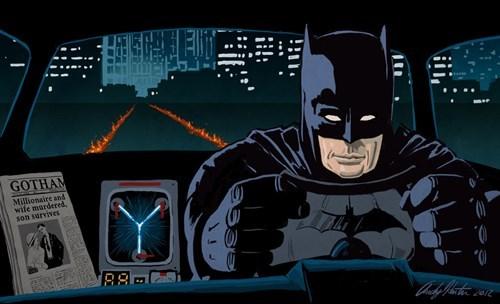 back to the future orphans batman - 8374585088