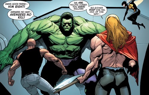 The Avengers Straight off the Page the incredible hulk - 8374644992