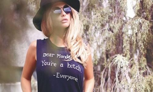 t shirts,mondays